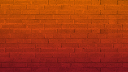 Old brick wall texture of stone blocks closeup for background Banco de Imagens