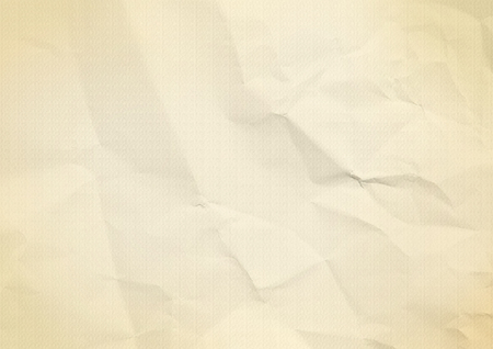 Gold, beige folded paper texture background Banco de Imagens