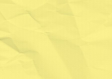 Folded paper texture. Yellow background.