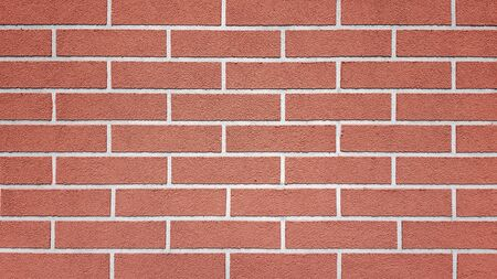 Brown clear brick wall texture background