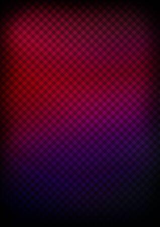 Colorful ornate diagonals tartan background. Banco de Imagens