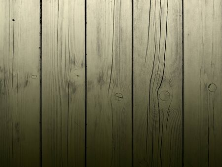 Top view of old wooden planks board texture background Banco de Imagens