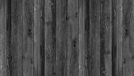 Background black wooden planks board texture