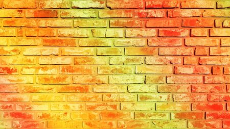 Wall brick background texture image Banco de Imagens