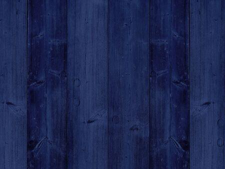 Vintage wooden dark blue vertical boards texture background.