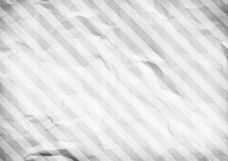 White crumpled paper diagonal striped background