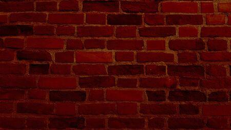 Brick Retro Wall Texture Background Surface Banco de Imagens