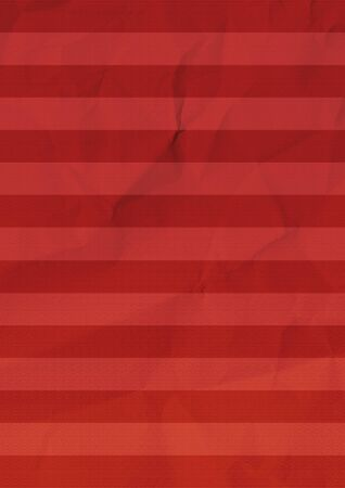 Red striped paper background texture. Banco de Imagens