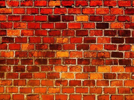 Vintage facade brick stone wall texture background