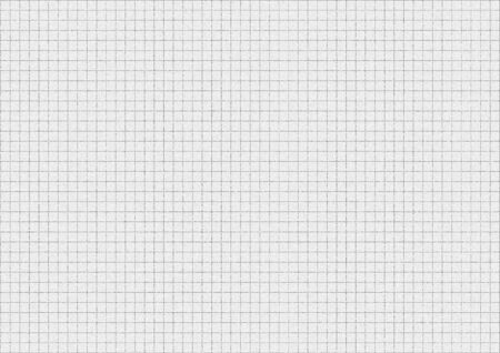 White graph paper background texture