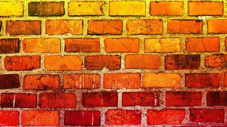 Brick old grunge stone wall texture background Banco de Imagens