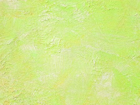 Wall painted with brush strokes texture
