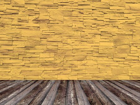 Pattern of rough sandstone wall texture and background