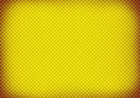 Yellow paper background texture with vignette