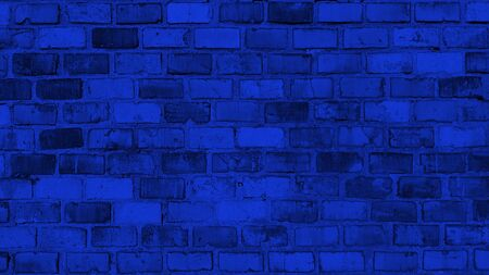 Facade Background Design Blue Old Wall Texture Background Banco de Imagens