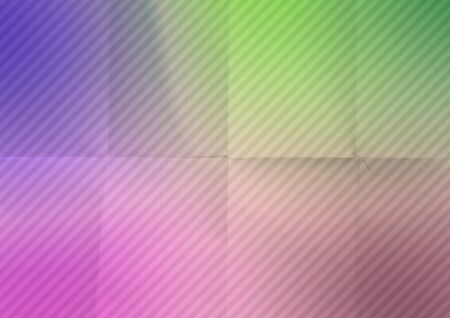 Colorful crumpled diagonal striped paper