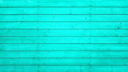 Blue background wooden boards texture. Banco de Imagens