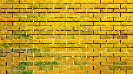 Brick wall background or texture Banco de Imagens