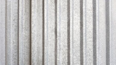 Corrugated sheet vertical metal texture background Banco de Imagens - 129449930