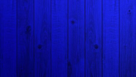 Background navy blue wooden planks board texture