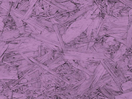 Violet plywood texture and background. Oriented strand board - OSB 写真素材