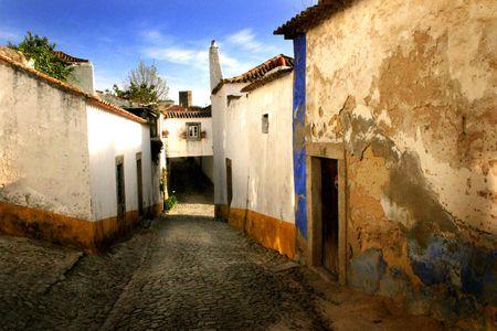 Street, Obidos, Portugal