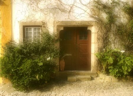House, Obidos, Portugal