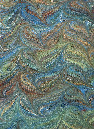 Renaissance/Victorian Marbled Paper 4 版權商用圖片