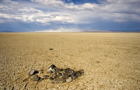 lifeless: Photograph of Abert Lake in South-Central Oregon, USA