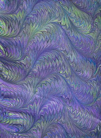 marbled: Foto di mano (di mia moglie) Rinascimento  Vittoriano carta marmorizzata fiorentina