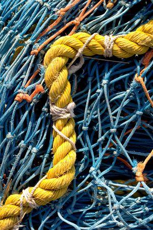 Photo of a fishing net photo