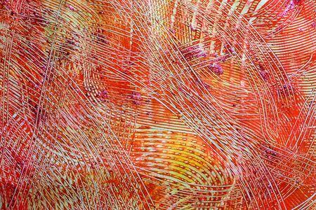 part of me: Foto de una parte de una pintura abstracta (I pintado! - Por lo que no es problema de los derechos de autor) hecho con pasta de papel