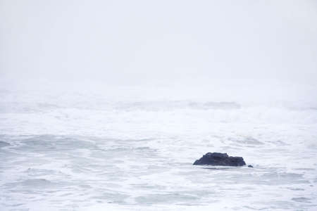 Abstract photo of the surf of the Pacific Ocean. Stock Photo - 711079