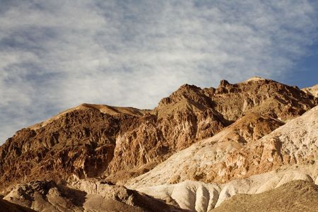 Artists Drive in Death Valley National Park, California. photo