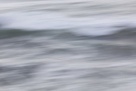 amorphous: Abstract ocean background: panned long exposure.