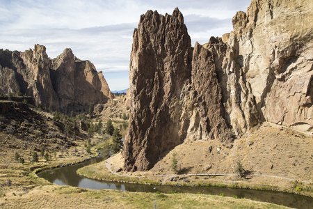 Photo of Smith Rock State Park in Central Oregon.