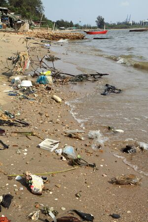 Marine pollution.
