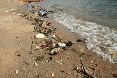 sea poison: Marine pollution.