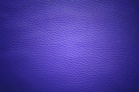 leatherette: Blue leatherette.
