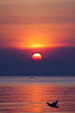 sundown: Sunset.