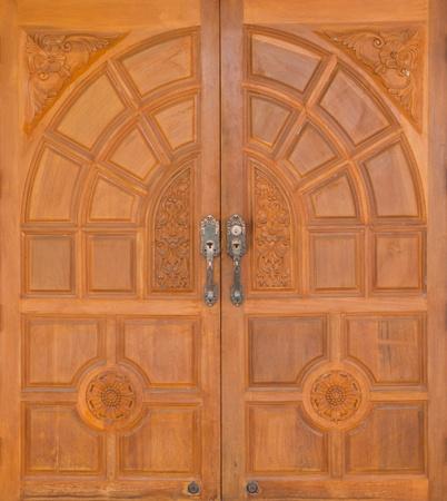puerta madera puerta de madera
