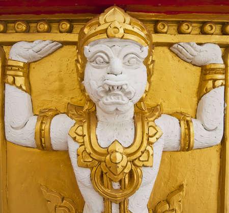 hanuman: Hanuman statue  Stock Photo
