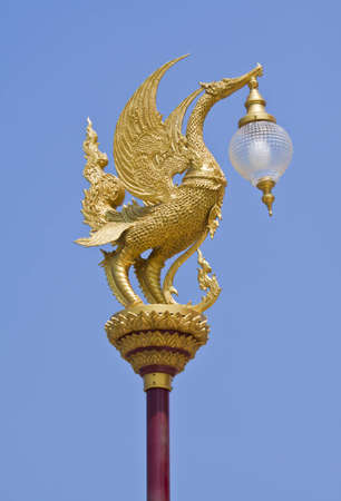 Swan lamp  photo
