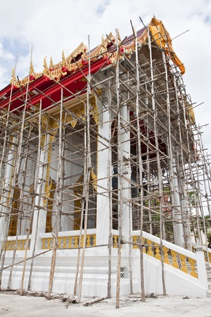 Church under construction in Thailand  Stock Photo - 12913946
