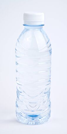 Plastic bottle with water isolated on white Stock Photo - 17986302