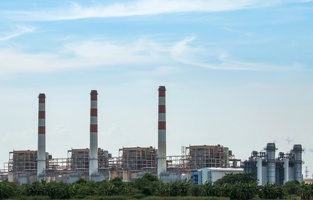 Thermal power plant, located in the east of Thailand.