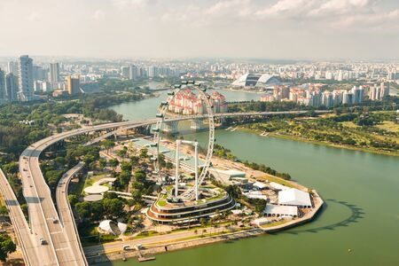 largest: Singapore Flyer - the Largest Ferris Wheel in the World.