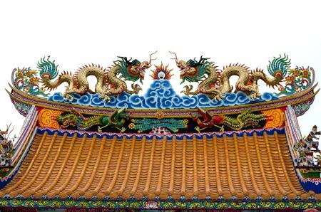 Twin Dragons no telhado