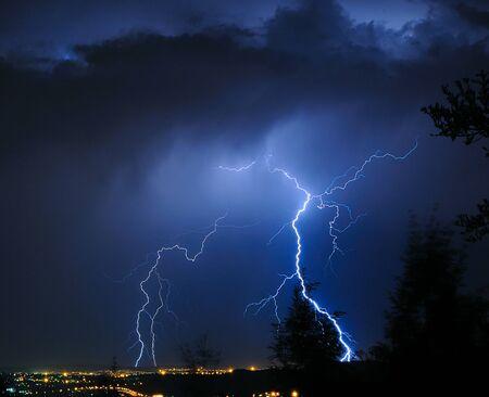 Lightning over Pretoria Stock Photo - 10059995