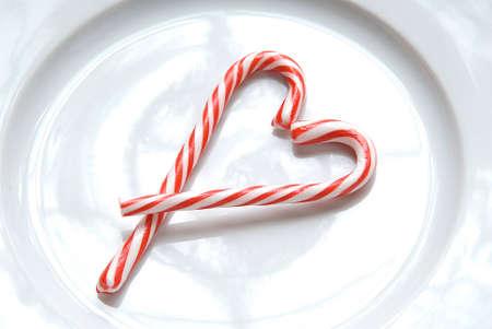 Snoepgoed hart Stockfoto